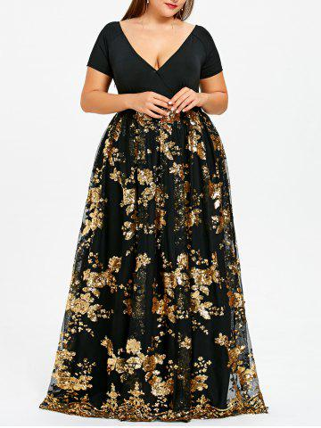f4c479e6608 2019 Plus Size Maxi Prom Dress Online Store. Best Plus Size Maxi ...