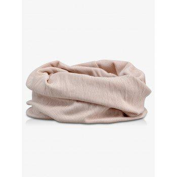 Outdoor Striped Pattern Open Top Beanie - LAVENDER PINOCCHIO