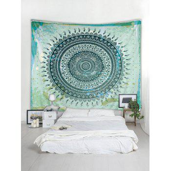 Boho Flower Print Tapestry Wall Art Decoration - multicolor W71 INCH * L71 INCH
