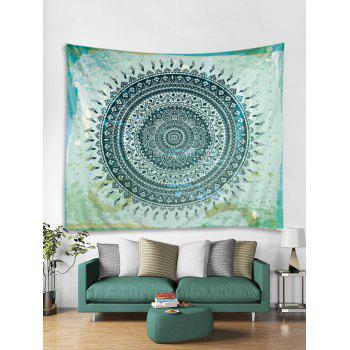 Boho Flower Print Tapestry Wall Art Decoration - multicolor W79 INCH * L71 INCH