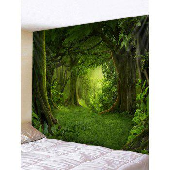 Forest Pattern Wall Tapestry Decoration