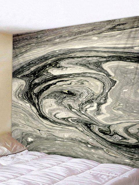Abstract Agate Print Tapestry Wall Art - multicolor W79 INCH * L71 INCH