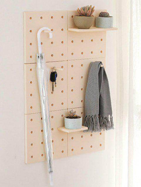 Multifunctional Wall Decoration Storage Rack - BEIGE