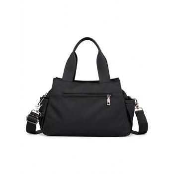 All Purpose Casual Outdoor Practical Tote Bag - BLACK