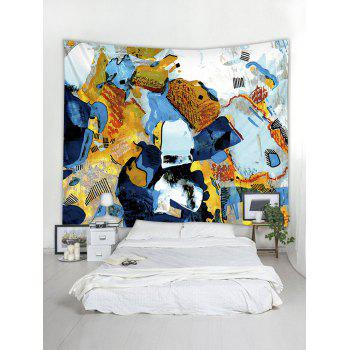 Abstract Graffiti Print Tapestry Wall Art - multicolor W79 INCH * L59 INCH