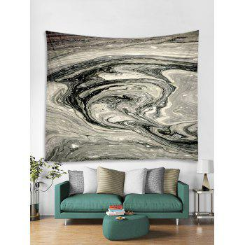 Abstract Agate Print Tapestry Wall Art - multicolor W91 INCH * L71 INCH