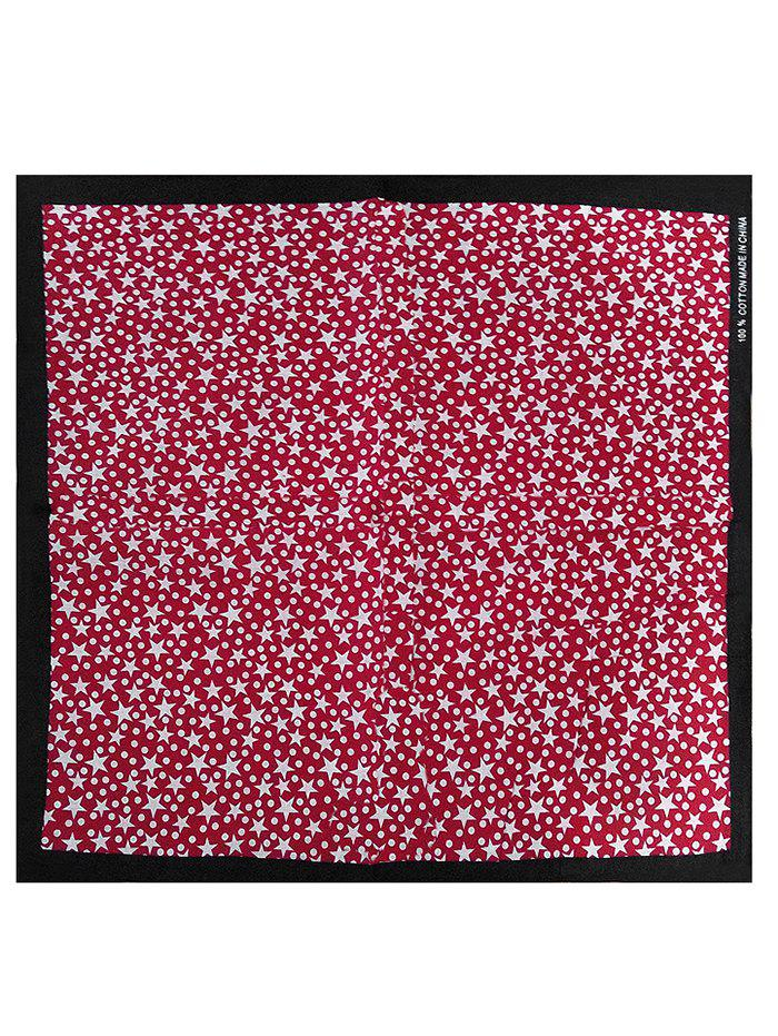 Twinkle Star Silky Party  Head Wrap - multicolor D