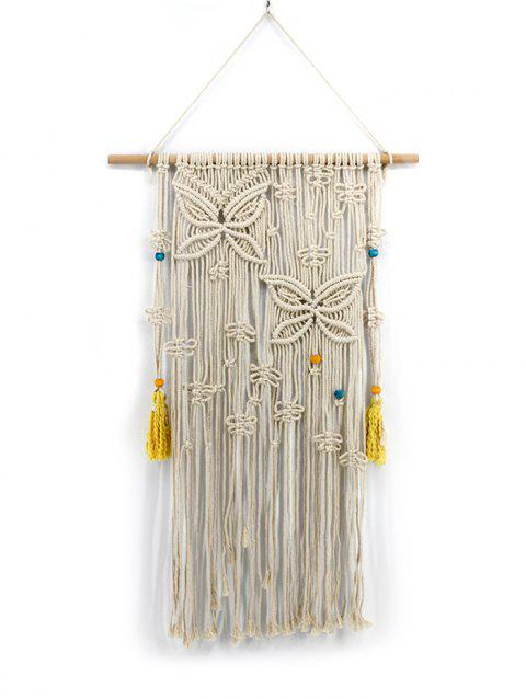 Macrame Wall Hanging Decoration - WARM WHITE 120*60CM