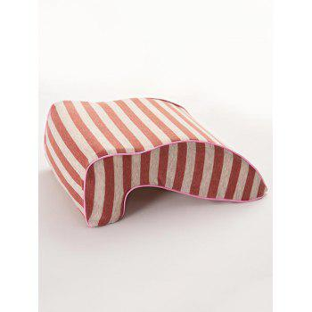 Memory Foam Show Rebound Striped Nap Pillow - ROSE 30*23*13CM