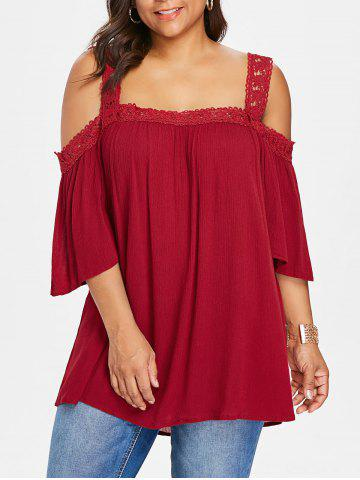 b7465d3928f877 2019 Plus Size Wine Red Blouse Online Store. Best Plus Size Wine Red ...