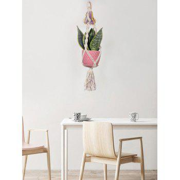 Macrame Plant Hanger Wall Hanging - multicolor 62*6CM