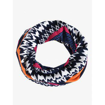 Outdoor Irregular Wave Striped Pattern Baggy Beanie - ROYAL BLUE