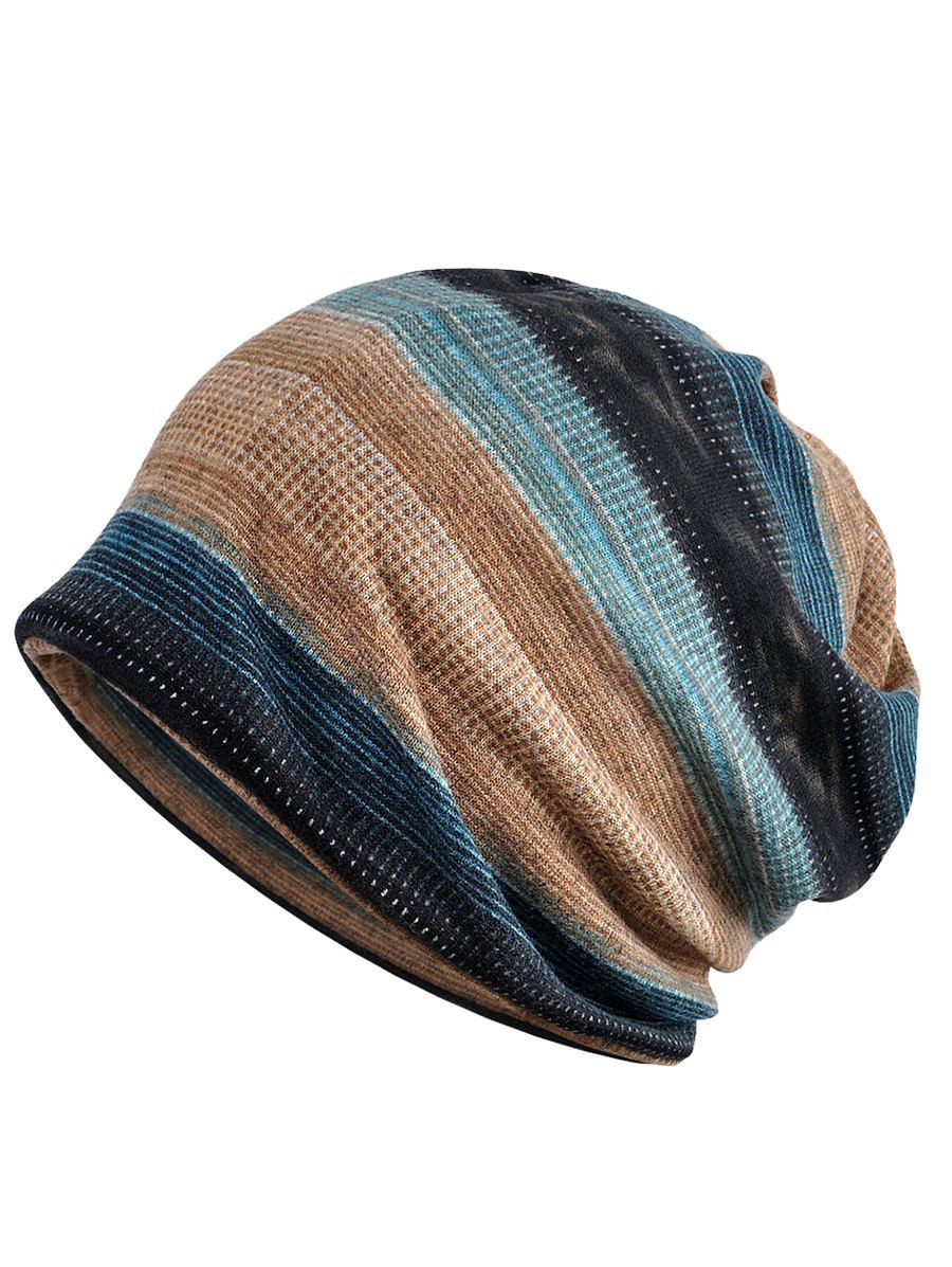 Lightweight Open Top Slouchy Beanie - multicolor C