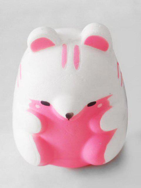 Simulation Hamster Slow Rising Squishy Toy - PINK