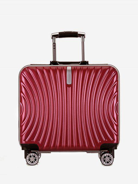 Universal Wheels Travel Business Boarding Luggage - RED