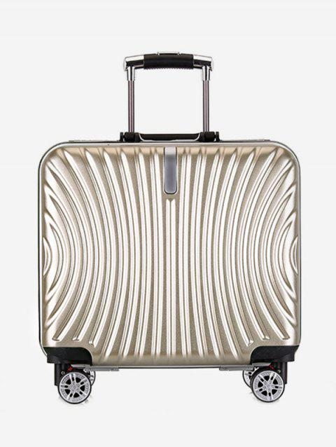 Universal Wheels Travel Business Boarding Luggage - GOLD