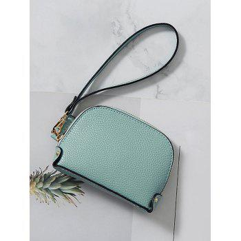 Practical Daily Shopping Clutch Bag for Coins - GLACIAL BLUE ICE