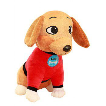 Dog Plush Toy - RED