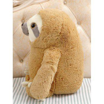 Sloth Plush Toy - BROWN