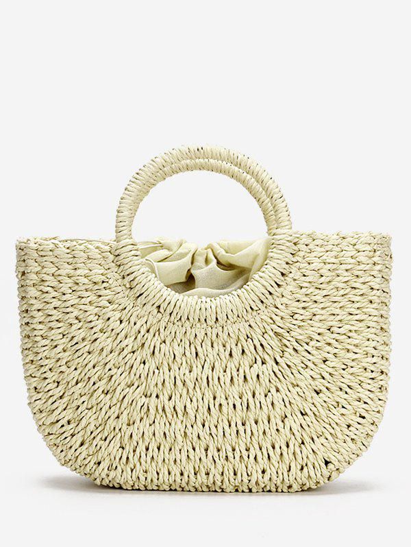 Straw Loisirs Holiday StringTote Bag - Beige