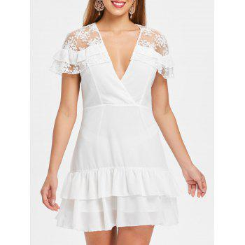 lace-panel-deep-v-neck