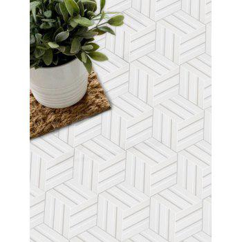 Vector Seamless Pattern Removable Tile Stickers - multicolor