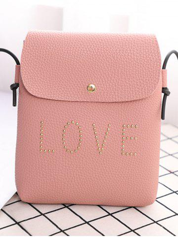 Studded Love PU Leather Mini Crossbody Bag