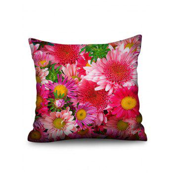 Flowers Double-sided Print Sofa Pillowcase - multicolor W18 INCH * L18 INCH