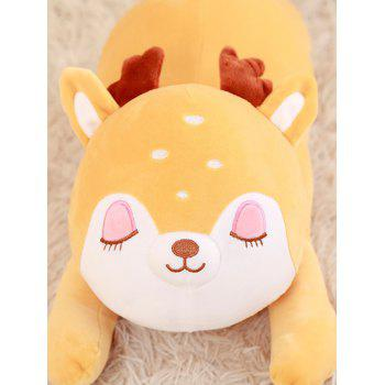Animal Deer Plush Toy - GOLDEN BROWN 50CM