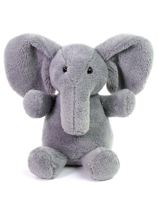 Elephant Plush Toy - GRAY