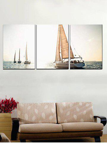 Ocean Sailing Boat Print Unframed Canvas Paintings