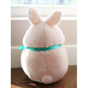Cute Rabbit Shaped Plush Toy - PINK