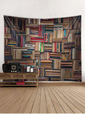 Stack of Books Print Tapestry Wall Art