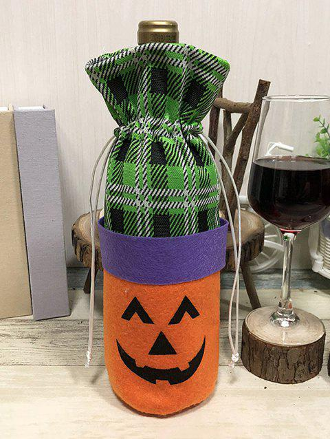 Halloween Decor Wine Bag - ORANGE