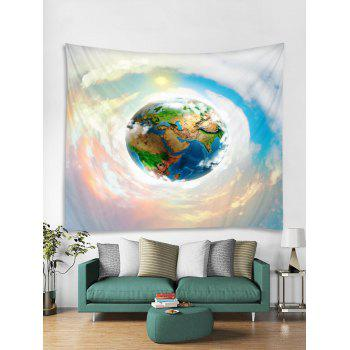 Earth Sky Print Tapestry Wall Art - multicolor W59 INCH * L51 INCH