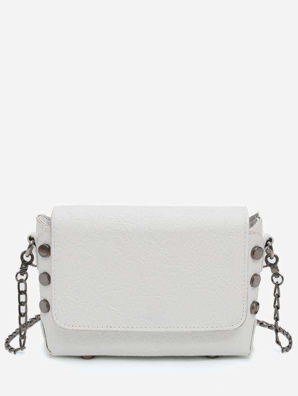 Minimalist Studs Flap Going Out Chain Bag -