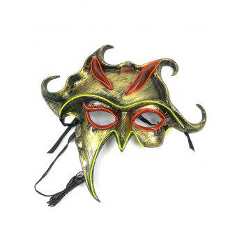 Halloween Cosplay Party Glowing Mask - multicolor