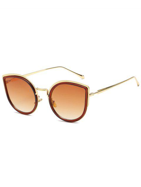 Lunettes de soleil Catty Sun Shades en alliage - Bronze
