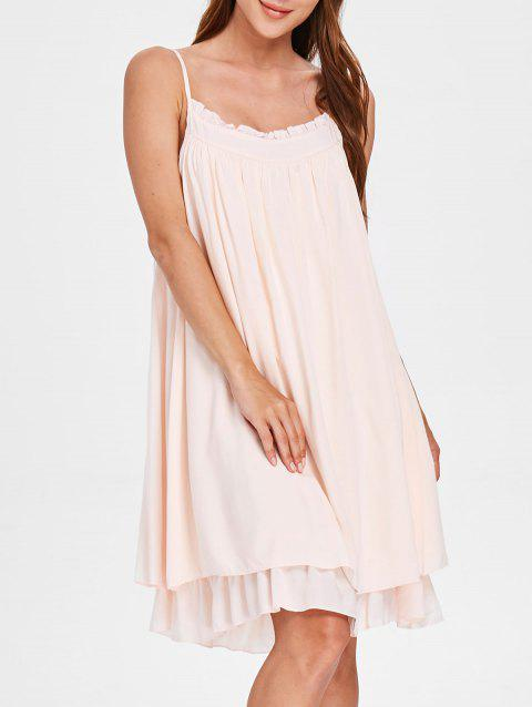 Robe Pyjama Slip - Chewing Gum Rose ONE SIZE