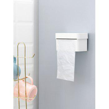 Wall-mounted Storage Box for Bathroom - WHITE