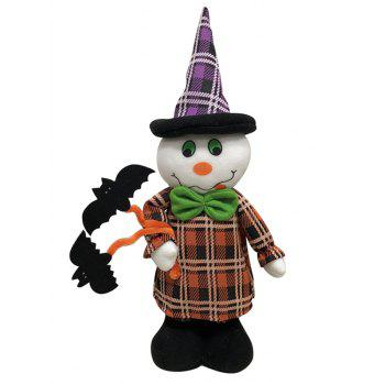 Different Shapes Retractable Halloween Gift Doll - WHITE