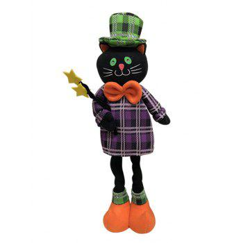 Different Shapes Retractable Halloween Gift Doll - BLACK