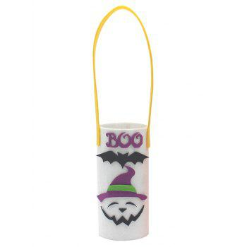 Halloween Deocration Gift Wine Bottle Cover - CRYSTAL CREAM