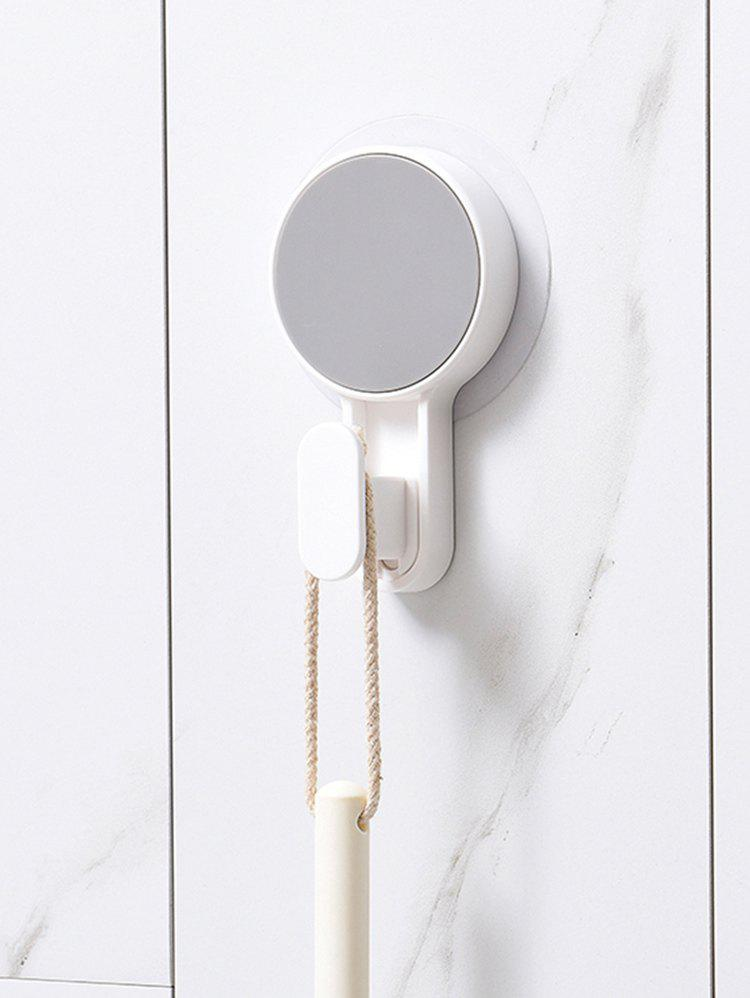 1 Piece Plastic Wall Hook - WHITE