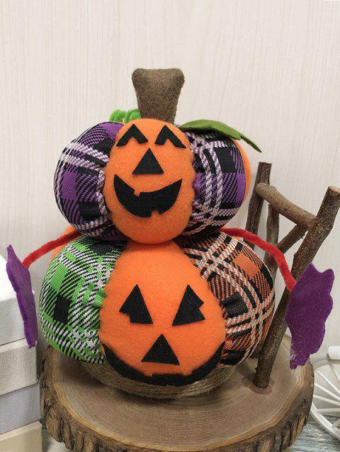 Halloween Pumpkin Decor Toy - CARBON GRAY