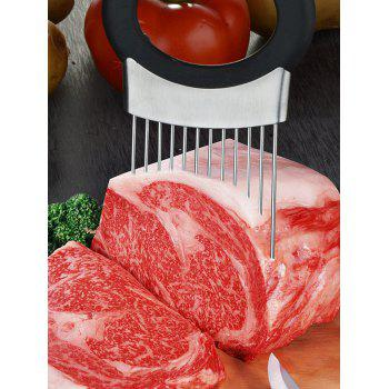 Vegetable Slicer Holder with Stainless Steel Soap - BLACK