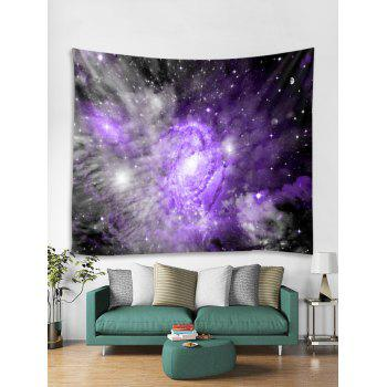 Galaxy Milky Way Print Tapestry Wall Art - PURPLE AMETHYST W59 INCH * L59 INCH
