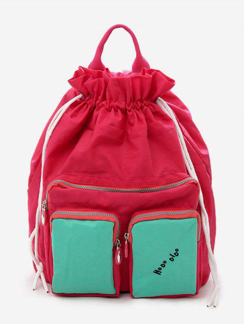 Leisure Outdoor Travel Backpack - RED