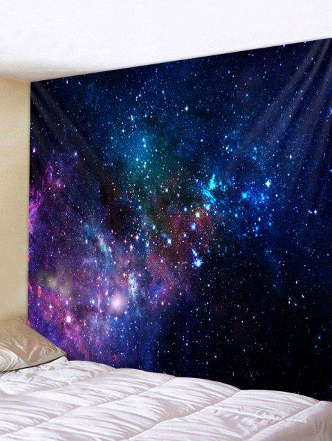 Colorful Galaxy Print Tapestry Wall Art - multicolor W79 INCH * L71 INCH