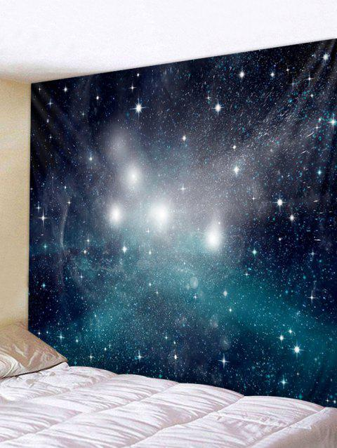 Wall Art Decoration Starry Sky Print Tapestry - multicolor W79 INCH * L71 INCH